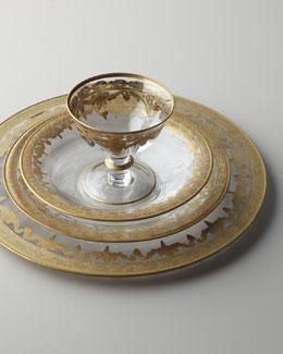 Arte Italica Vetro Gold Glassware