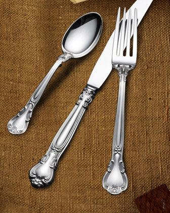 66-Piece Gorham Chantilly Sterling Silver Flatware Service
