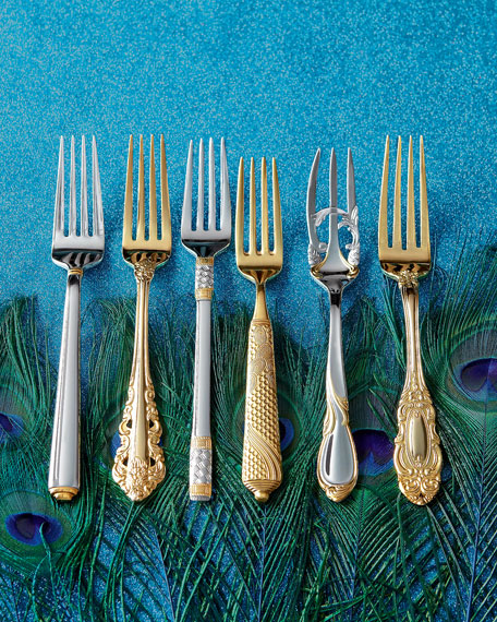 5-Piece Cache Stainless Steel Flatware Place Setting