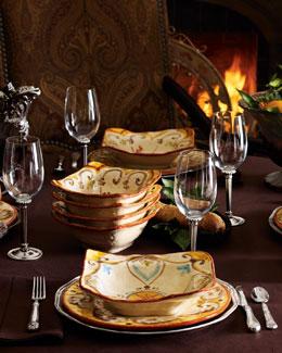 Caff Ceramiche 16-Piece Baldaccio Dinnerware Service
