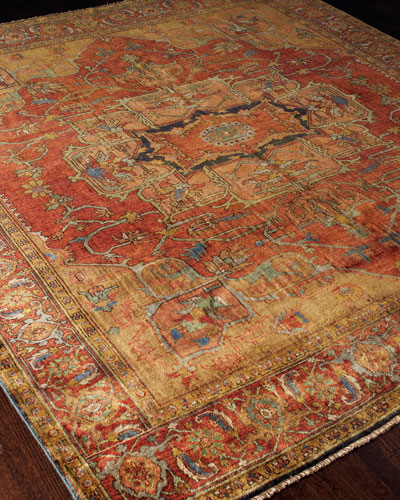 Exquisite Rugs Tribute Medallion Rug