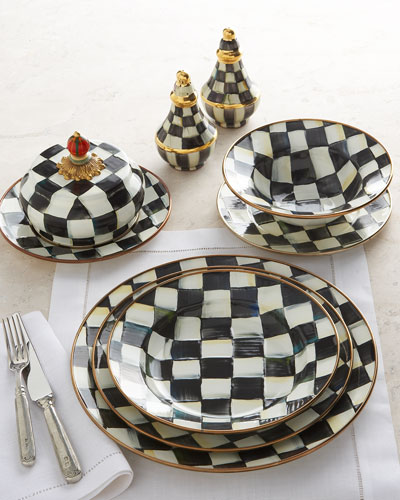 MacKenzie-Childs Courtly Check Dinnerware
