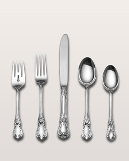 Wallace Silversmiths 66-Piece Old Master Sterling Silver Flatware Service