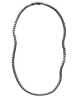 David Yurman Box-Chain Necklace