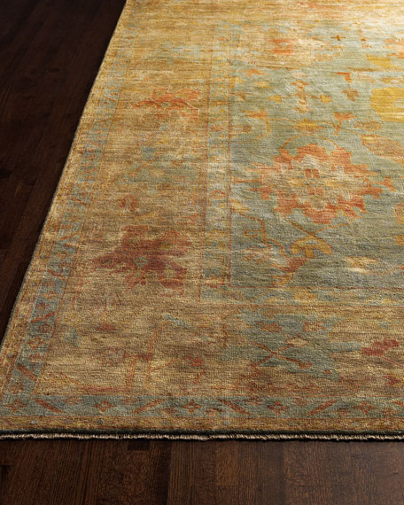 Exquisite Rugs Victorian Oushak Rug, 8'6