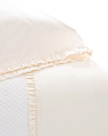 Pine Cone Hill King 200TC Classic Ruffle Sheet