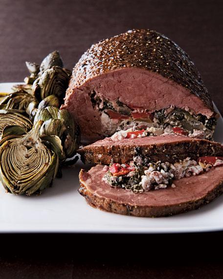 5-lb. Stuffed Beef Tenderloin, For 10-12 People