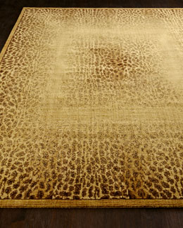 """Leopard Shadow"" Rug"