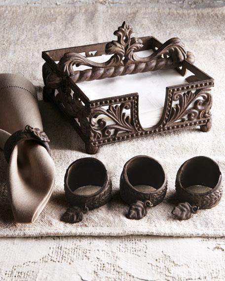 Four Napkin Rings
