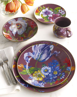 "MacKenzie-Childs ""Flower Market"" Dinnerware"