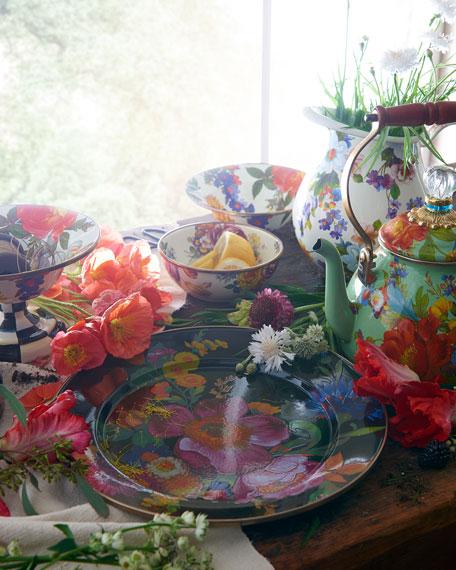Flower Market Black Everyday Bowl