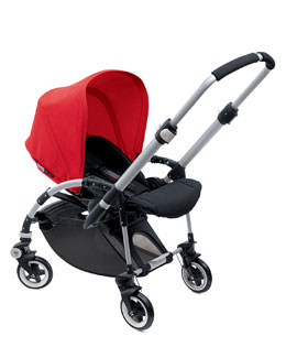 Bugaboo Bee Stroller Base & Sun Canopy, Red