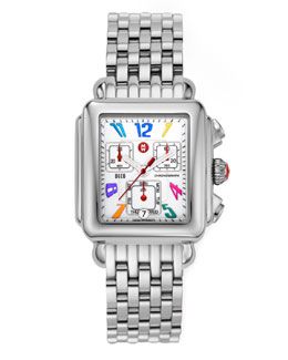 Michele Deco Carousel Watch