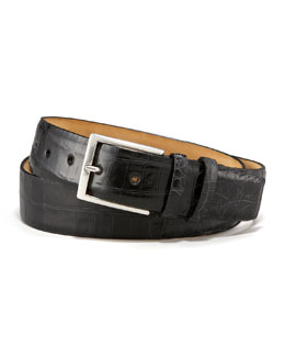W.Kleinberg Crocodile Belt