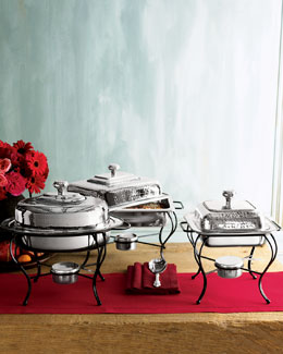 Silver Chafing Dishes