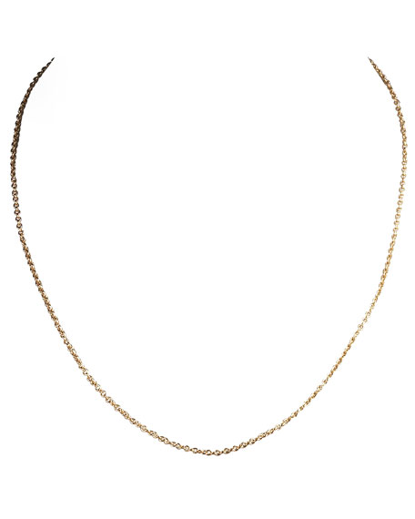 Heather Moore Chain Necklace, 16