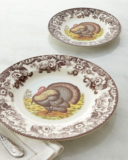 Spode Woodland Turkey Dinnerware