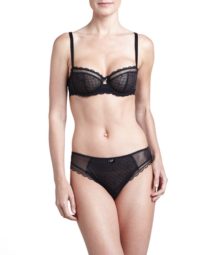 Chantelle C Chic Demi Bra & V-Cut Panties