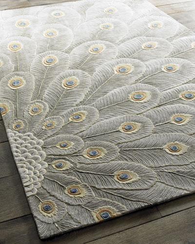 Peacock Bursts Rug