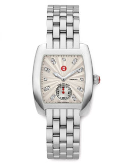 MICHELE Urban Mini Diamond-Dial Watch