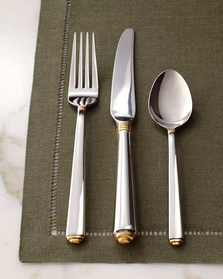 Neimanmarcus 5-Piece Dome Flatware Place Setting