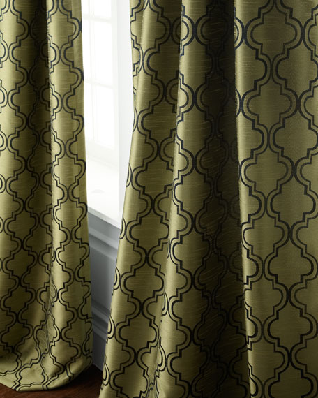 "Each 96""L Penrose Curtain"