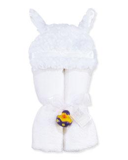 Swankie Blankie Hooded Lamb Towel