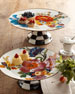 Flower Market Pedestal Platters