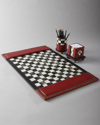Courtly Check Desk Accessories