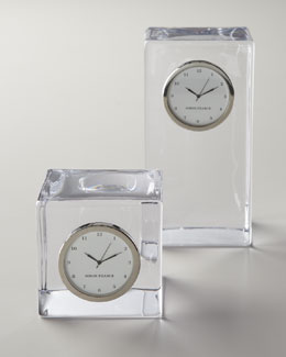 "Simon Pearce ""Woodbury"" Clocks"