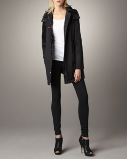 Burberry Brit Bowpark Rain Jacket & Knit Leggings