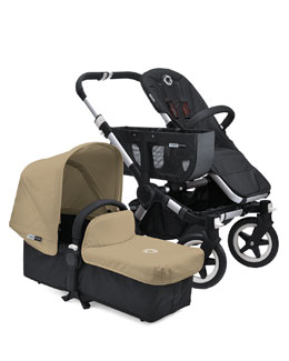 Bugaboo Donkey Stroller & Tailored Fabric Set, Sand