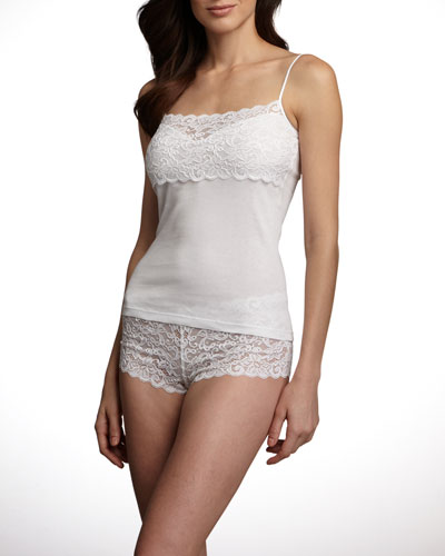 Hanro Luxury Moments Lace Camisole & Boy-Leg Brief
