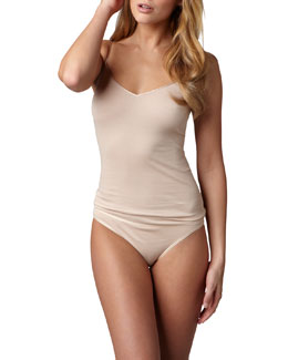 Hanro Cotton Seamless Camisole & High-Cut Briefs