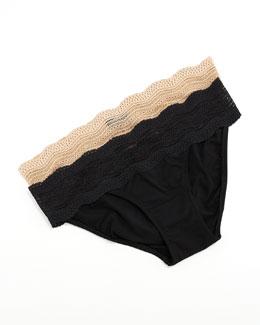 Cosabella Dolce Vita Low-Rise Bikini Briefs
