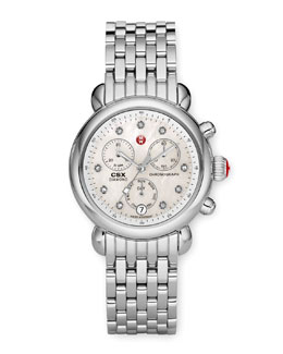 MICHELE Diamond Watch Head  &  Bracelet Strap