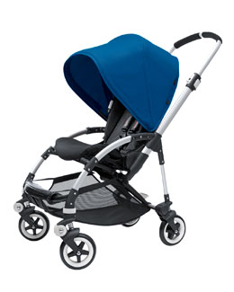 Bugaboo Bee Stroller Base & Sun Canopy, Royal Blue