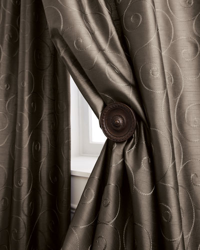 """Valencia Scroll"" Curtains"