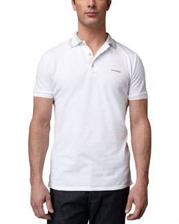 Burberry London Tipped Logo Polo