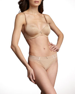 Chantelle C Chic Spacer Convertible Bra & Convertible Brazilian Panties