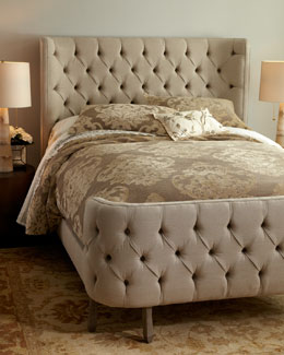 "NM EXCLUSIVE ""Linen Larkspur"" Bed"