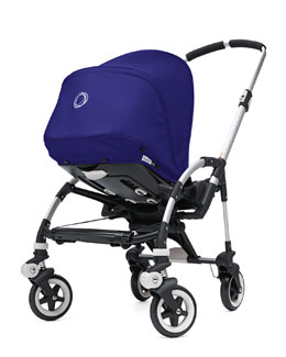 Bugaboo Bee Stroller Base & Sun Canopy, Electric Blue