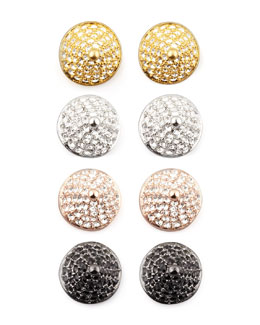 Eddie Borgo Pave Crystal Cone-Stud Earrings