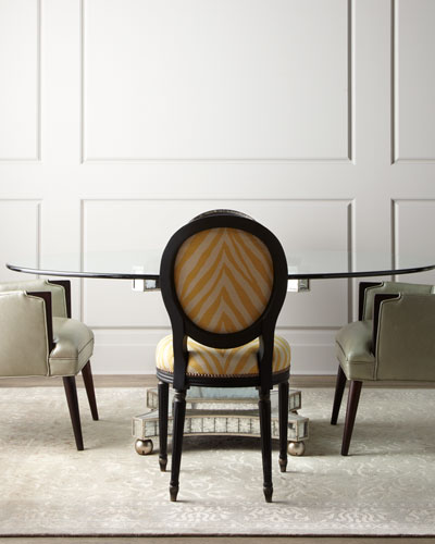 Gretna Dining Chairs & Erlinda Dining Table