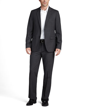 Stretch-Wool Suit & Stretch-Cotton Shirt