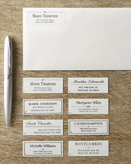Designer Address Labels