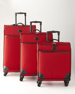 "Bric's Red ""Pronto"" Luggage"