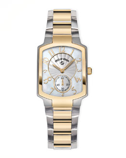 Philip Stein Small Classic Two-Tone Gold Watch Head & Bracelet
