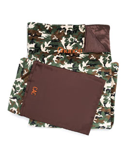 Swankie Blankie Camouflage Sleeping Bag & Pillow