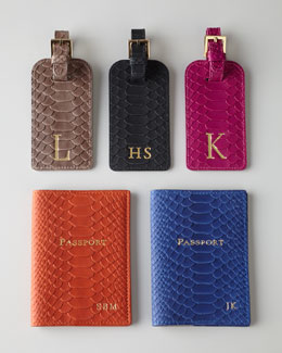 "GiGi New York a Graphic Image Company ""Python"" Travel Accessories"